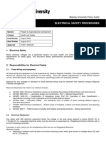 Electrical Safety Procedures