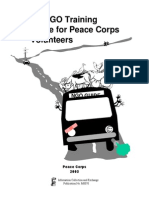 An NGO Training Guide For Peace Corps Volunteers 2003 (Non Governmental Organization