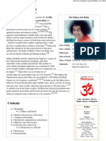 Sathya Sai Baba - Wikipedia, The Free Encyclopedia