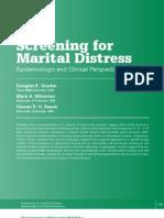 Screening for Marital Distress