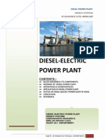 Diesel Electric power plant