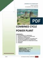 Combined Cycle Gas Turbine.
