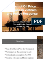 Impact of Oil Price - Increase in Vn and Policy Response