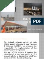 Delhi GGN Epxressway