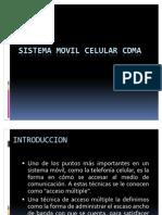 Sistema Movil Celular Cdma