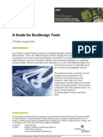 A Guide for EcoDesign Tools 2nd Edition