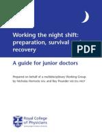Night Shift Booklet