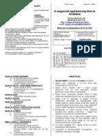 Hirdetések 2011 április 24 - május 1