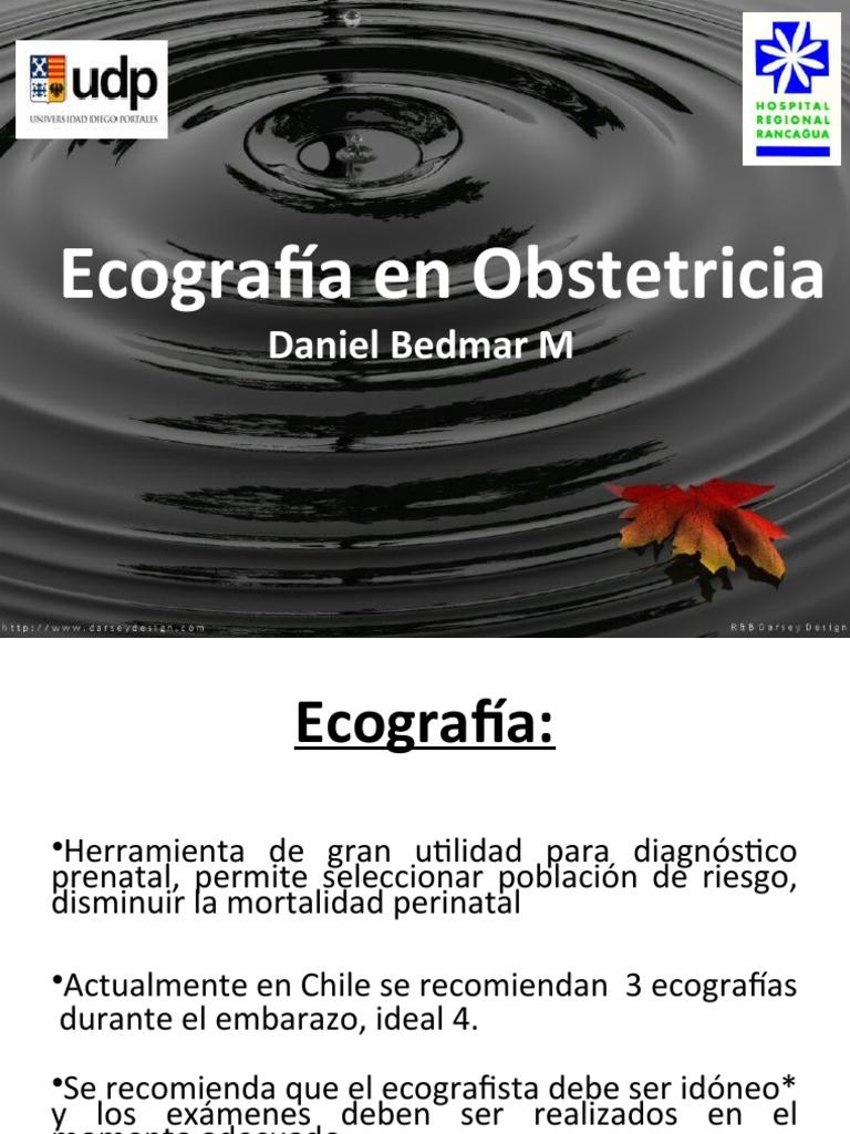 Ecografía en Obstetricia