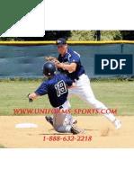 Custom Baseball Uniforms and Custom Softball Uniforms.