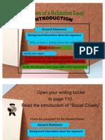 Refutation Essay Organization