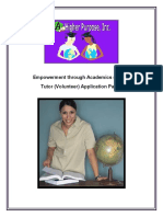 Empowerment Through Academics