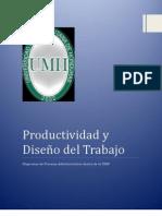 Productividad y Diseo Del Trabajo