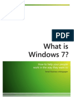 White Paper Windows7 Small Businesses