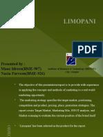 LIMOPANI Marketing Managment presentation