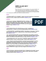 Agenda Aladi 2012