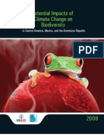 Potential Impacts of Climate Change on Biodiversity in Central America, Mexico, and the Dominican Republic