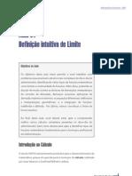 definição intuitiva de limite