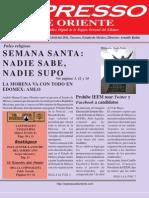 Expresso de Oriente 25 Abril 2011