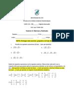 Examen 4 MATH 118