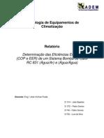 Determinação da Eficiência Energética de um Sistema Bomba de Calor