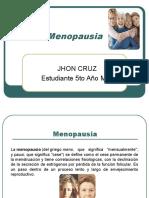 Menopausia Dr Jhon Cruz