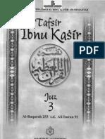 Tafsir Ibnu Katsir Juz 3