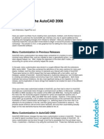 AutoCAD 2006 Customization White Paper Final