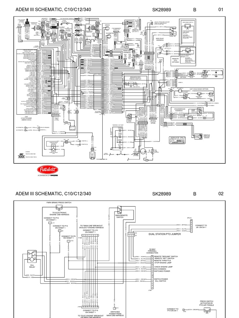 engine control module wiring harness working and engine interface module wiring diagram adem iii schematic #9