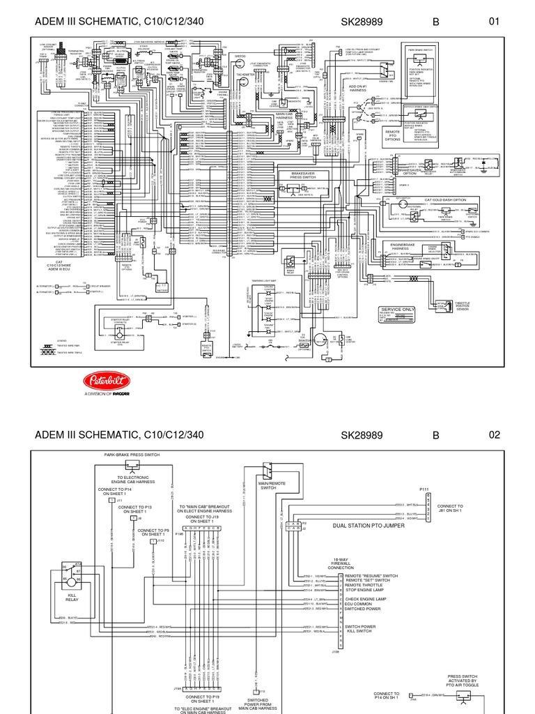 Cat 3 4b Engine Diagram - Wiring Diagram Ops