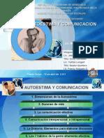 AUTOESTIMA Y COMUNICACION