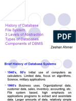 Lecture 3 - History of Database, Types of Databases, Components of DBMS