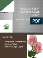 Belajar Microsoft Exel 2007