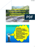 Mainstreaming climate change adaptation in the Philippine Forestry and Natural Resources Sector