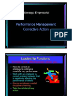Performance Management Corrective Action