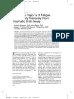 Fatigue and TBI