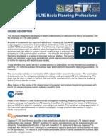 Informa Certifie LTE Radio Planning Professional
