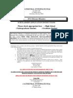 ScholarshipApplication2011-20121