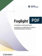 Foglight Install Unix Embedded Mysql