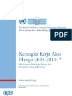 Hyogo Framework for Action Bahasa Indonesia
