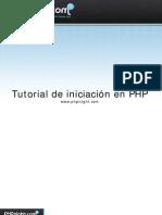 Tutorial Iniciacion en Php