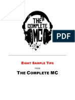 Learn How to Rap the Complete MC Free Sample