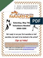 Wisconsin Marathon Flyer