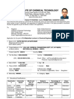 Mayur Mashelkar Lecturer Form