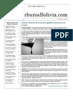 Hidrocarburos Bolivia Informe Semanal Del 18 Al 24 Abril 2011