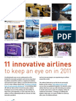 Innovative Airlines 2011-Airlinetrends