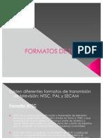 FORMATOS DE TELEVISIÓN