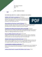 AFRICOM Related News Clips 25 April 2011