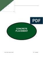 10 Concrete Placement