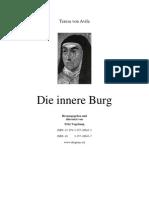 Seelenburg bzw. Die Innere Burg - Theresa von Avila